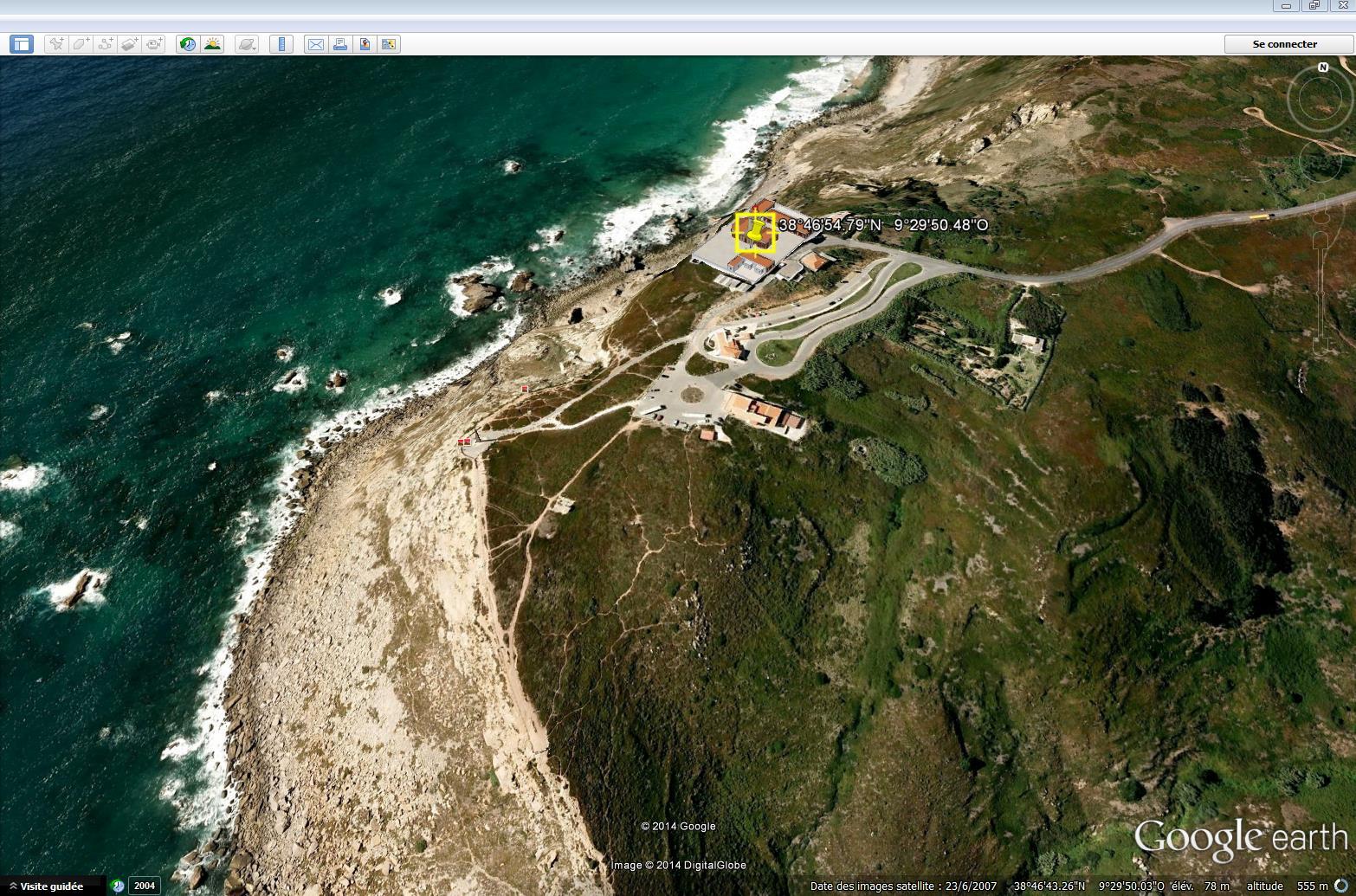 La partie la plus à l'ouest du continent européen 280463CaboDaRoca