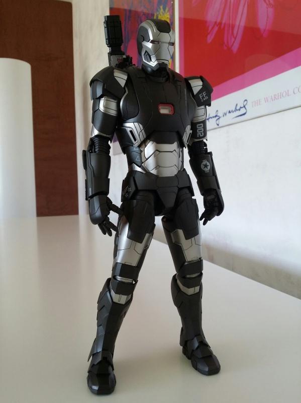 """red360 collec"""": War Machine MKII Diecast Hot Toys 280771201407161550021"""