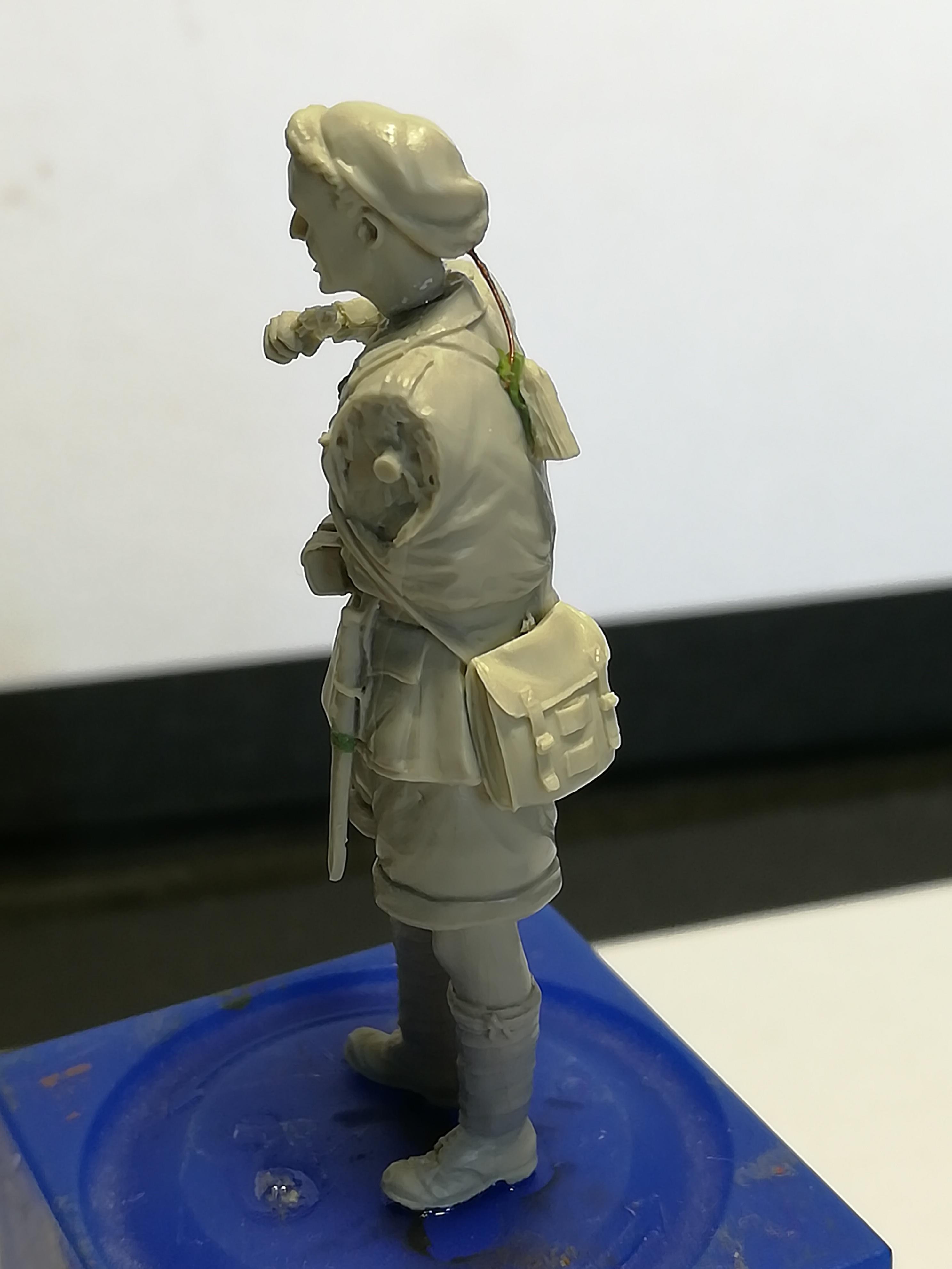 Les frères ennemis, Bir Hakeim, Libye, 1942 - Figurines Steelmasters 1/35 281318IMG20170904173857