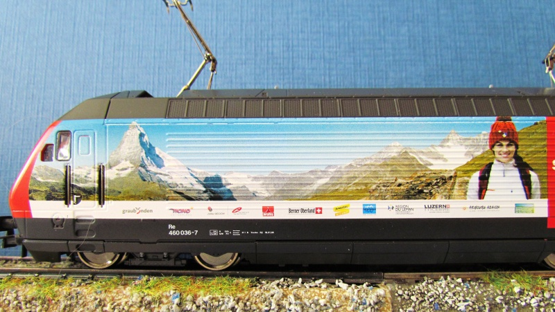SBB 460 036-7  ROCO  3 rails AC 281617IMG3915