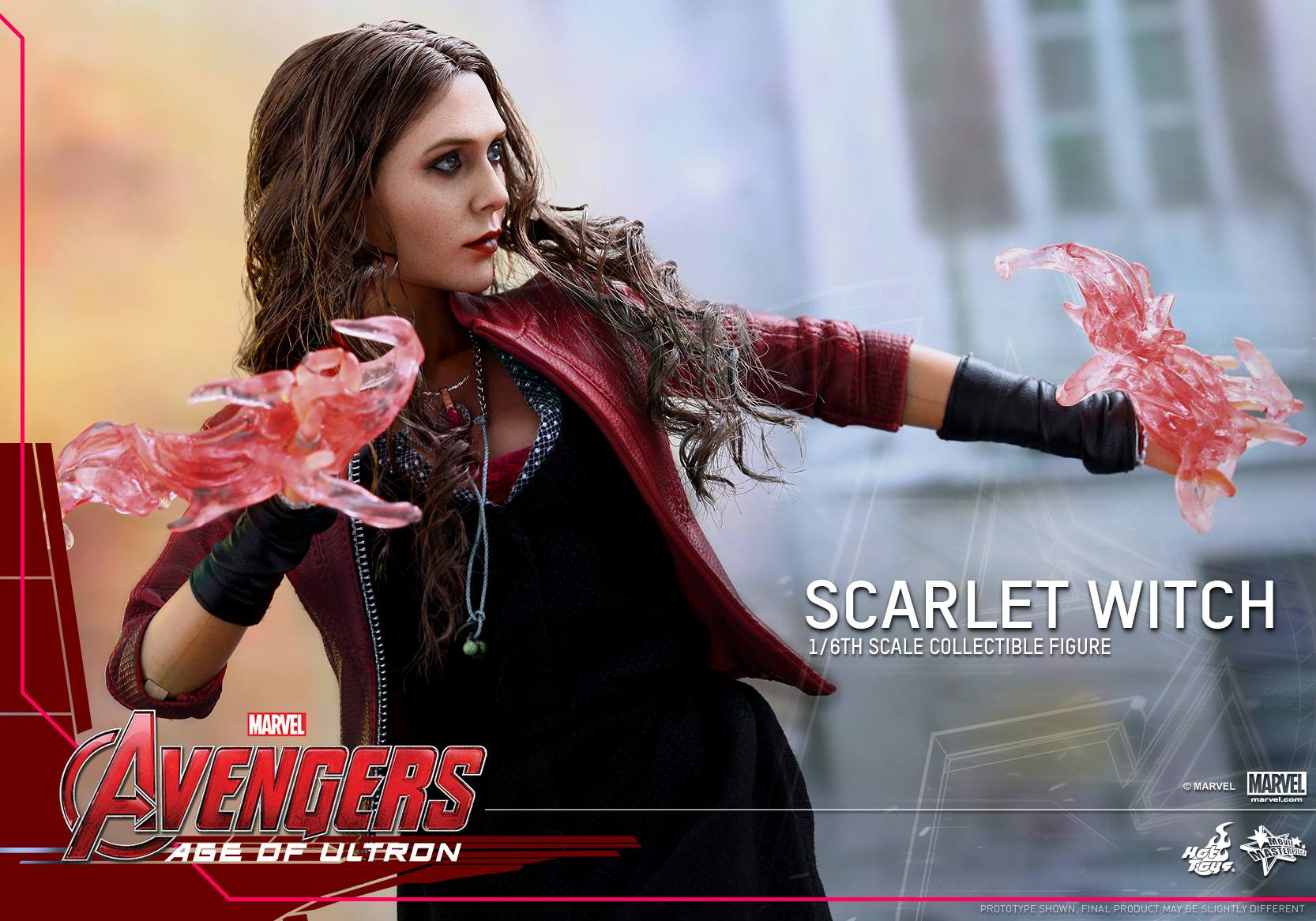 HOT TOYS - Avengers: Age of Ultron - Scarlet Witch 281729103