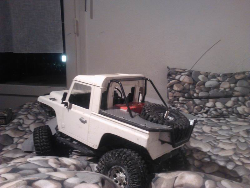 [ SCX10 Axial ]  Jeep'eu rien turn away ! Short chassis and Timber Style ! - Page 2 281963ResizeofWP001114