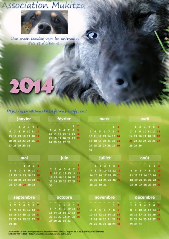 Réservation des calendriers 2014 283304CALENDRIERMUKITZA