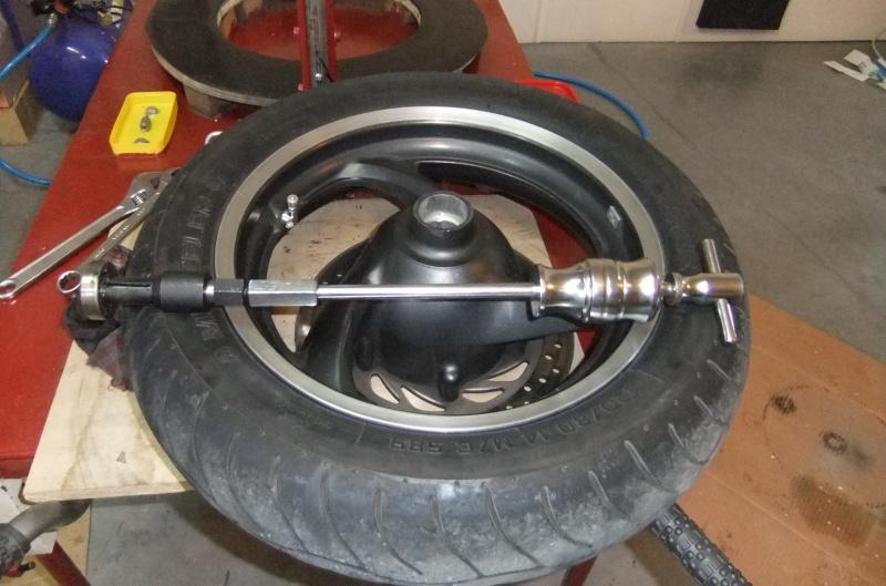 Quatre roulements dans ma roue AV 283786DSCF7873