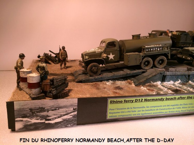 Rhinoferry D12 Normandy Beach(after the D-DAY) 284355finrhinoferry048