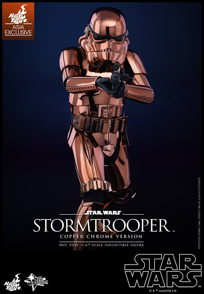 HOT TOYS - Star Wars: TFA - Stormtrooper Copper Chrome 284483109