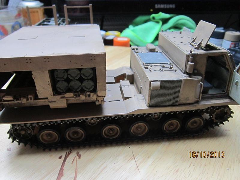 M270 RMLS w/M26 ROCKET PODS 1/35 de modern AVF series 285118IMG1713800x600