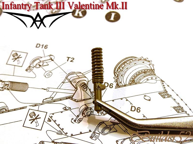 Infantry Tank III Valentine Mk.II - AFV CLUB 1/35 285400P1050340