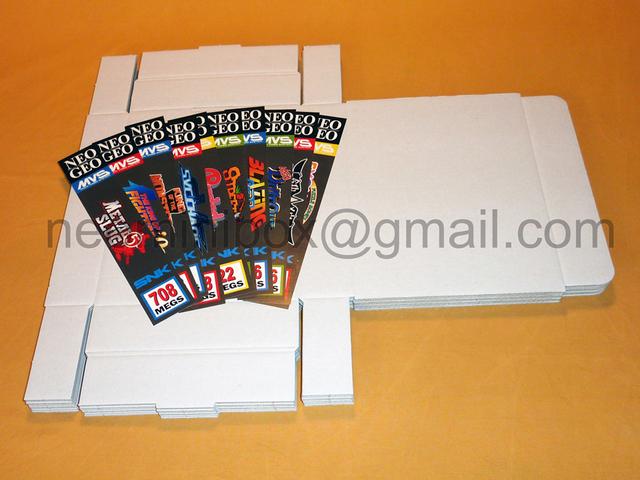 Faire soit même c'est boîtes en carton MVS (Rech aide & matos) 28607279589202