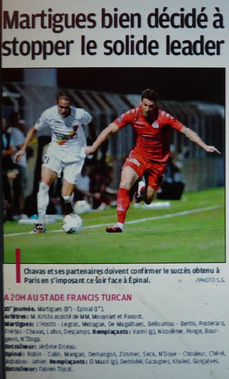 Stade athlétique spinalien// SAS EPINAL  - Page 2 287492P1220880