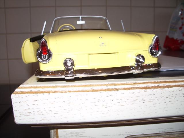 ford thunderbird 1955 au 1/16 de chez amt  289131013