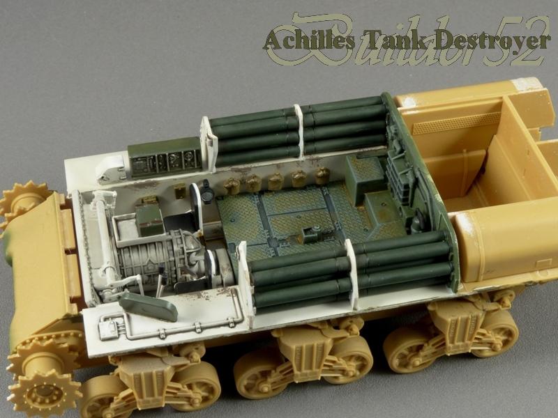 Achilles Tank Destroyer - Academy-Italeri + RB Model + set Blast 1/35 289249P1030801