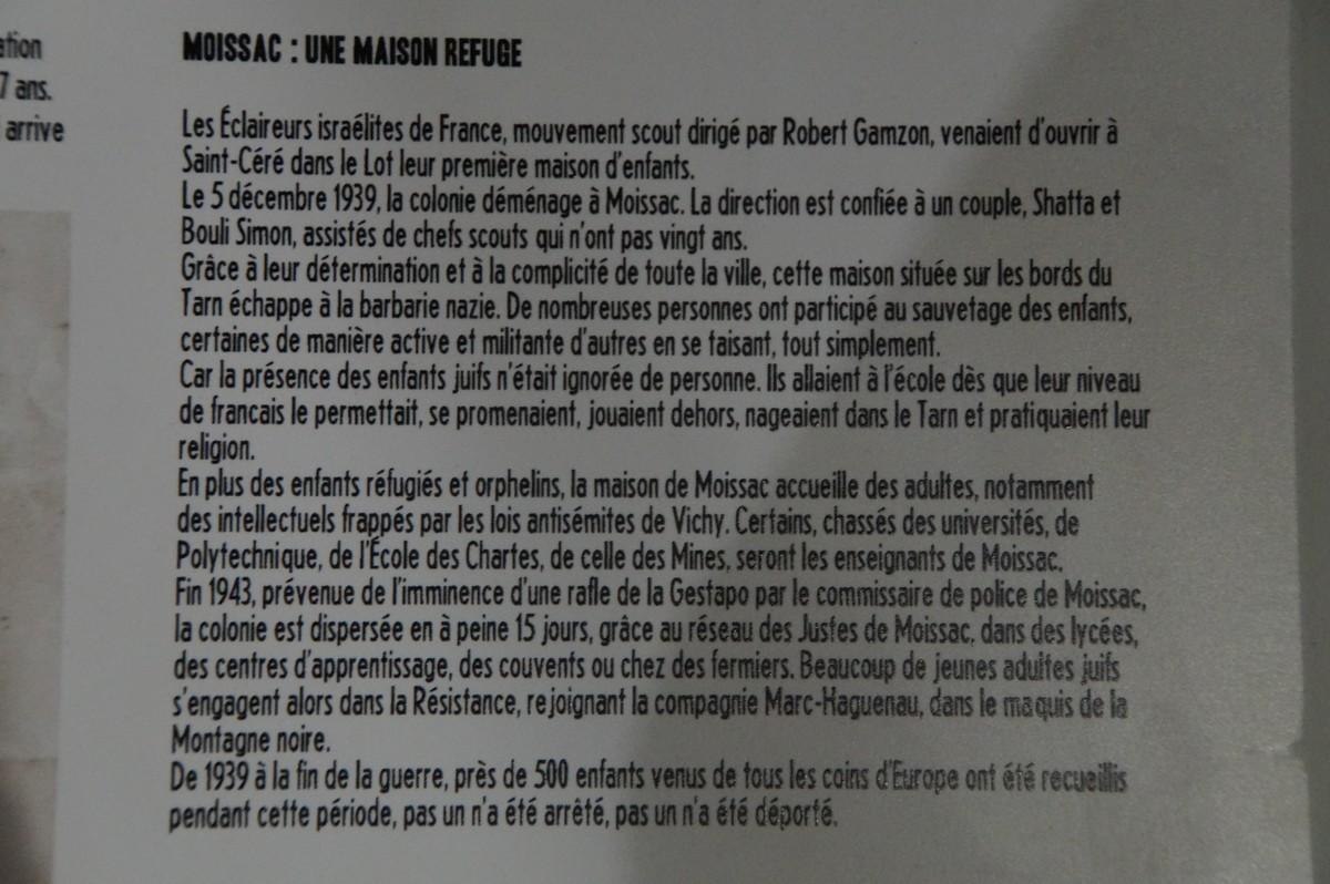 [ Histoire et histoires ] Musée de la résistance et du combattant à Montauban 289856DSC07541