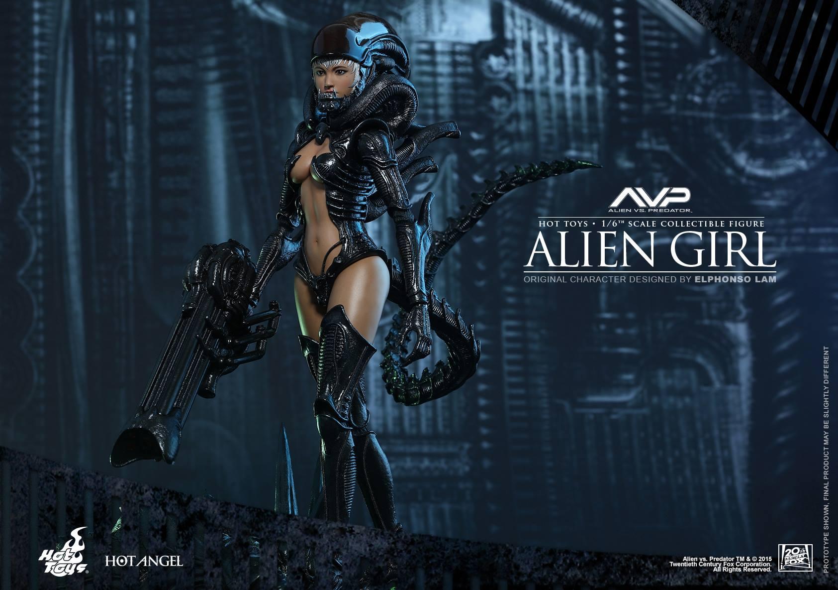 HOT TOYS - AVP - Alien Girl 290819111