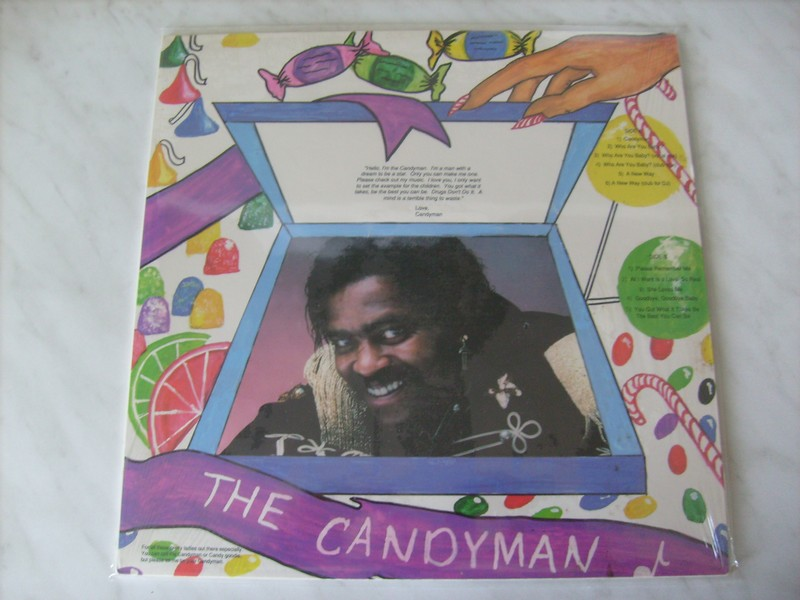 LP-CARLOS C WARD-THE CANDYMAN-88-LTR REC 290944ca1