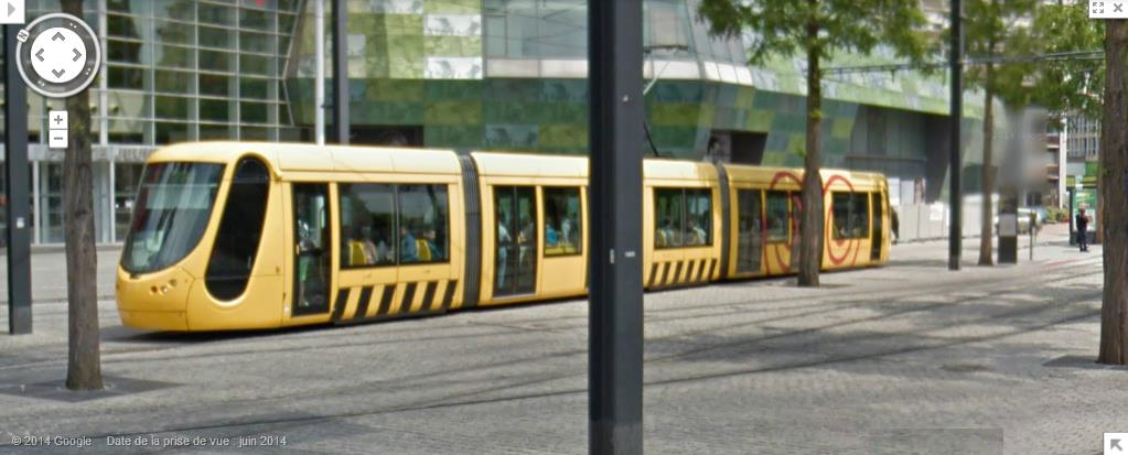 STREET VIEW : les tramways en action - Page 2 291344tramwayMulhouse