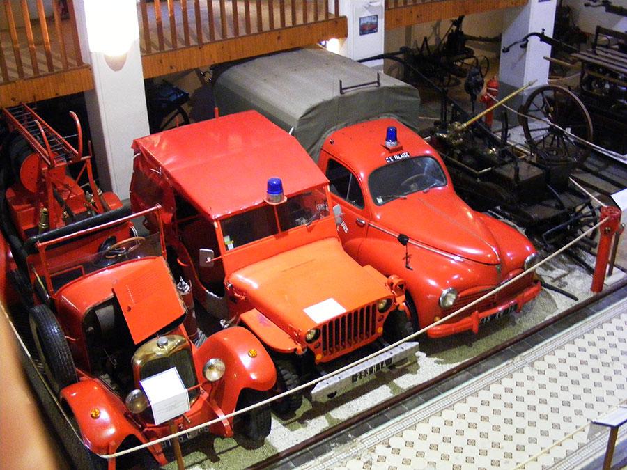 Bagnoles de l'Orne - Musée départemental des pompiers. 293200DSCF1725z9