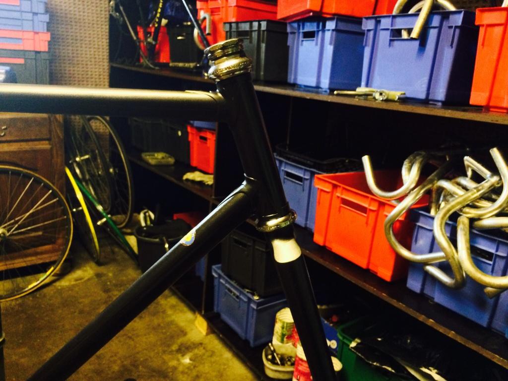 Vélo de piste Jean Marie Brun Tubes Columbus 294829image