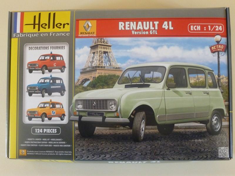 [HELLER] Renault 4L version GTL 1/24e ref : 80759 295554P1000488Copier