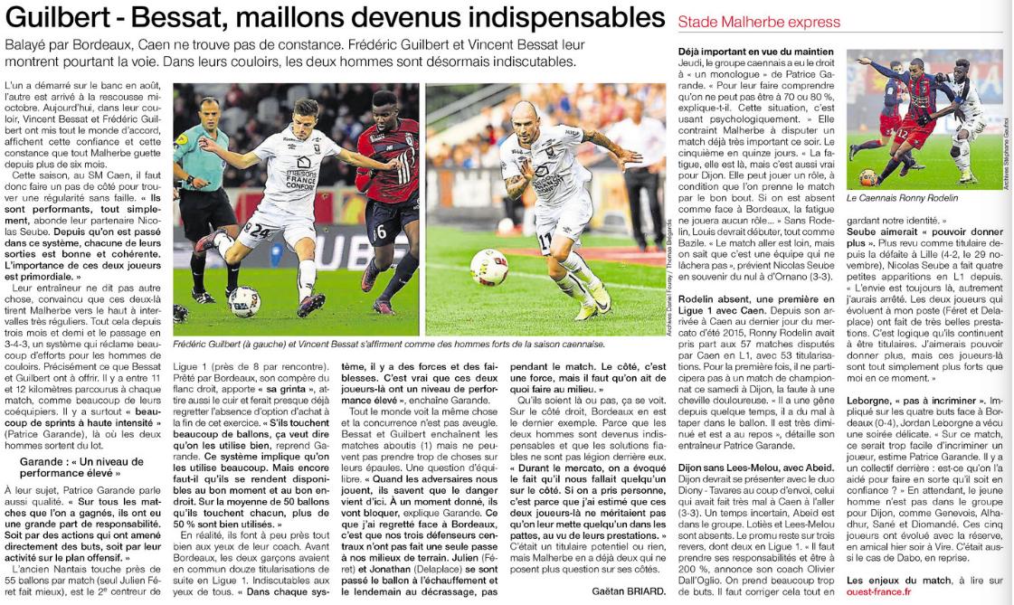 [25e journée de L1] Dijon FCO 2-0 SM Caen  295771dijon