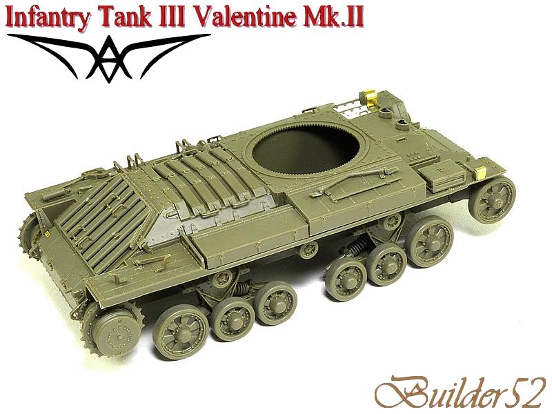Infantry Tank III Valentine Mk.II - AFV CLUB 1/35 295904P1050398
