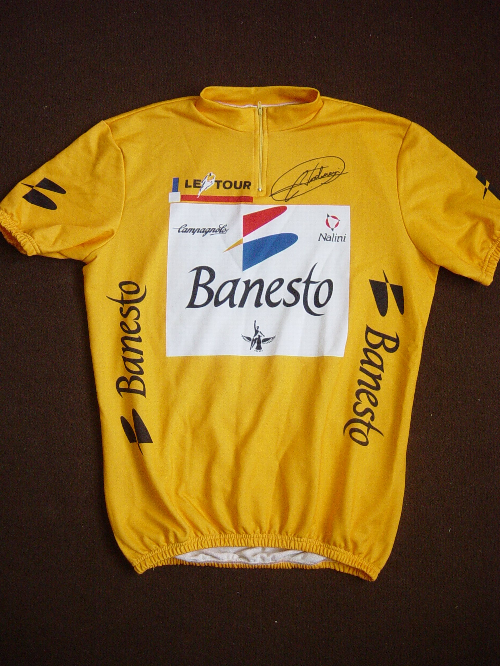 Vélo RAZESA - BANESTO 1991 2981971995maillotjauneBanesto