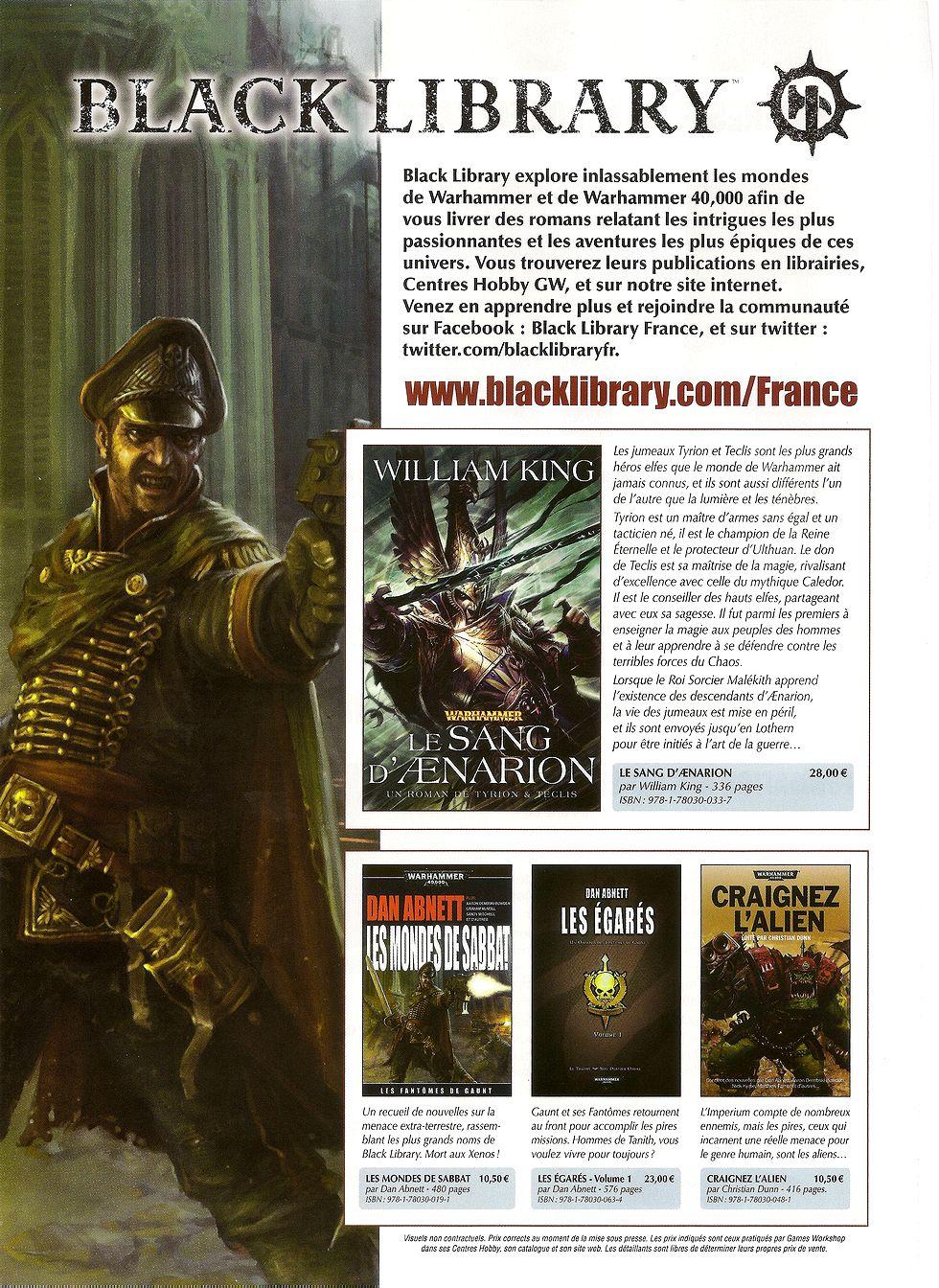 Sorties Black Library France Décembre 2011   298234BLdec2011