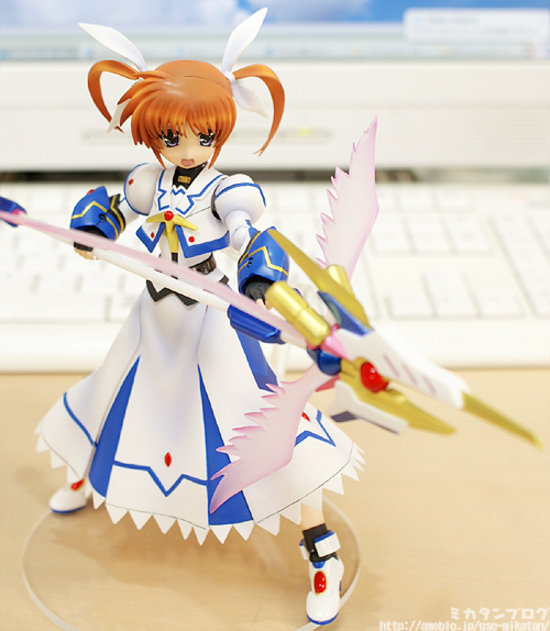 [Figurine] Actsta - Magical Girl Lyrical Nanoha The MOVIE 1st: Nanoha Takamachi 1/8 Scale actsta Action Figure 299371lyricalnanoaactstagoodsmilecompany8