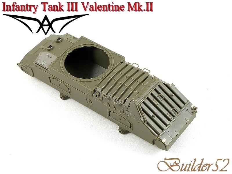 Infantry Tank III Valentine Mk.II - AFV CLUB 1/35 300402P1050337