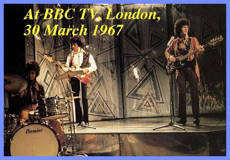 Londres - Top Of The Pops pour la BBC : 30 mars 1967 300458300367TV