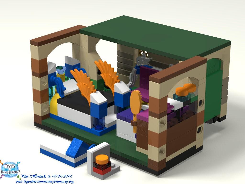 [MOC] Boîte de présentation Moi et mon dragon, en mini-maison de campagne 300750boite05maison01Construit1