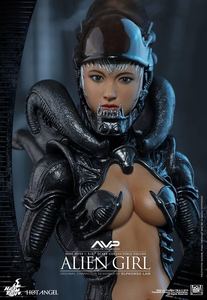 HOT TOYS - AVP - Alien Girl 301376104