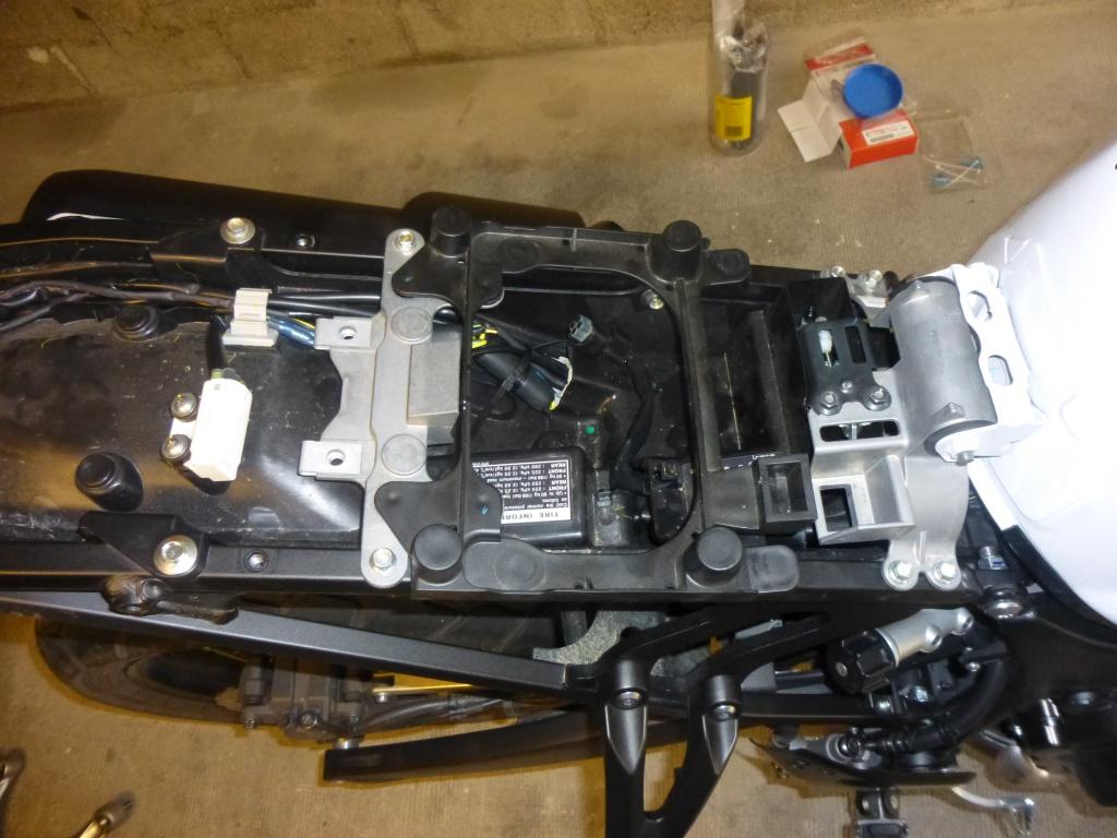 Montage clignotants led Yamaha 301752P1020405