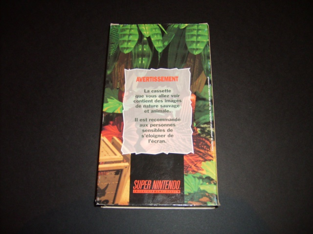 VHS de promo Super Nintendo 302044S5002281