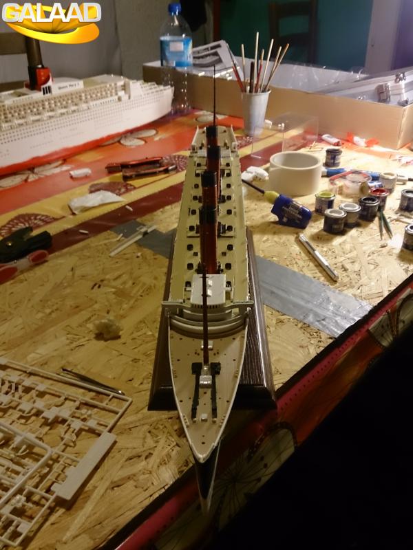R.M.S Lusitania (Cunard)    1/350 de chez Mr HOBBY 302758394