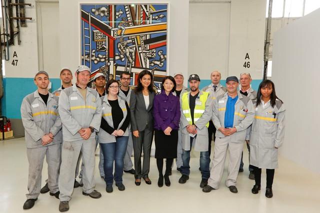 L'entreprise à l'œuvre : l'usine de Flins expose « les constructeurs » de Fernand Léger 3039236318316