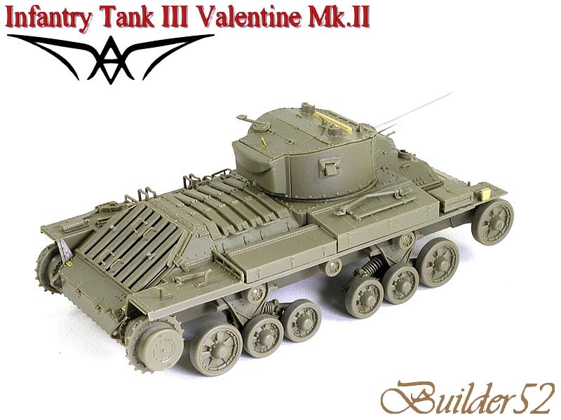 Infantry Tank III Valentine Mk.II - AFV CLUB 1/35 304046P1050404