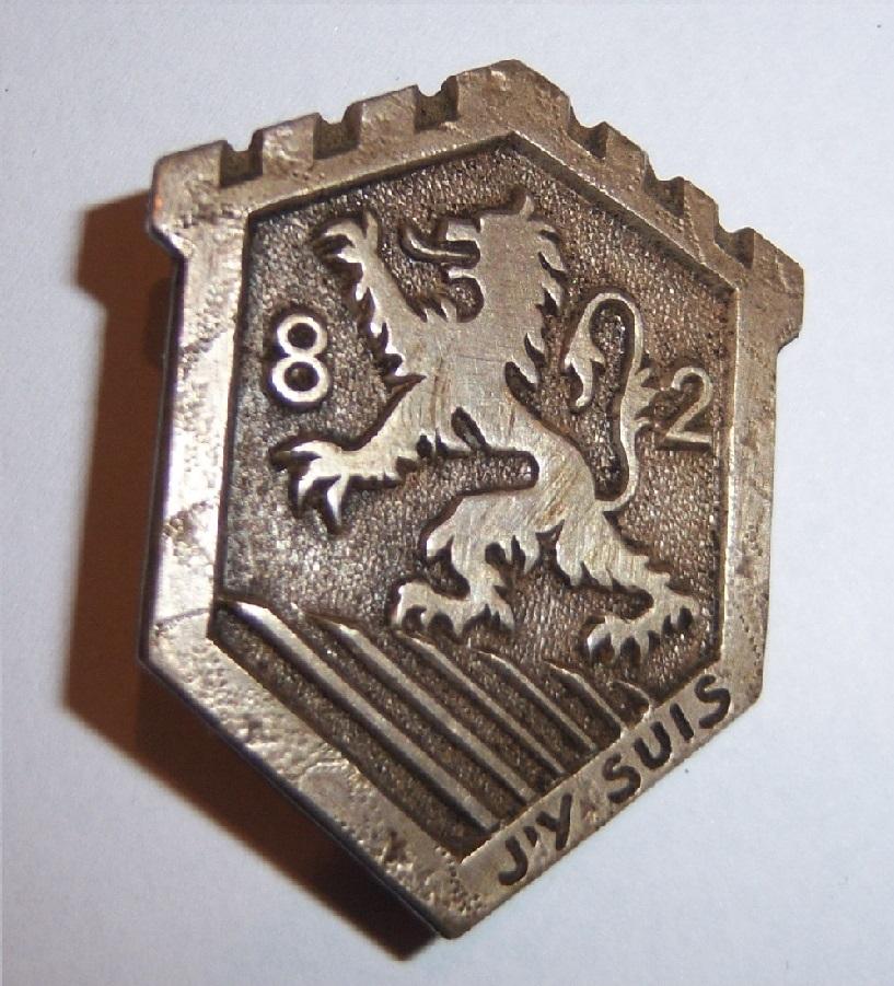 Insigne du 82ème RMIF 3050681006717