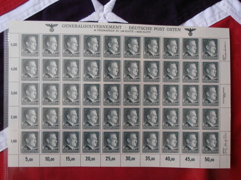 Planche de Timbres Adolf Hitler  305592P8160018