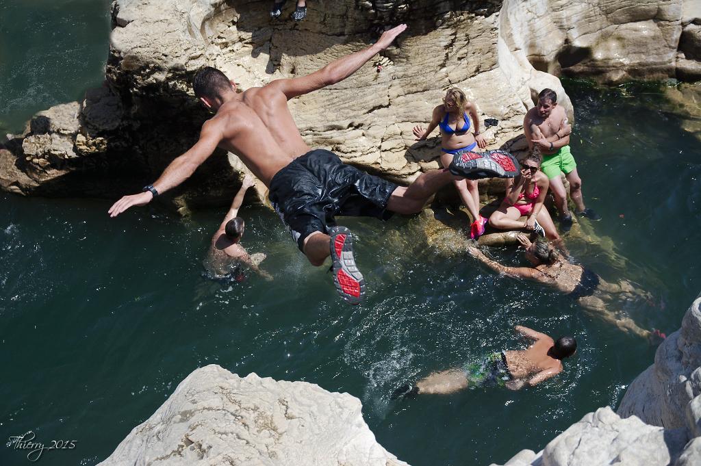 Plongeons aux cascades du Sautadet 309054DSC0474