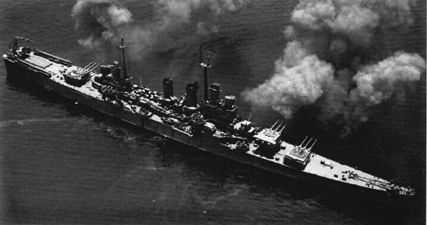 USN CROISEUR LOURD USS WICHITA 309293USSWichitaCA45tir