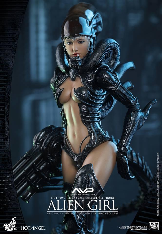 HOT TOYS - AVP - Alien Girl 311175106