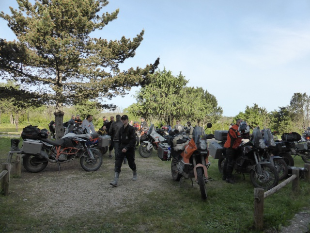 KTM Adventure day's 2015 :  concentre et raid off road d'enfer ! 311237P1010737