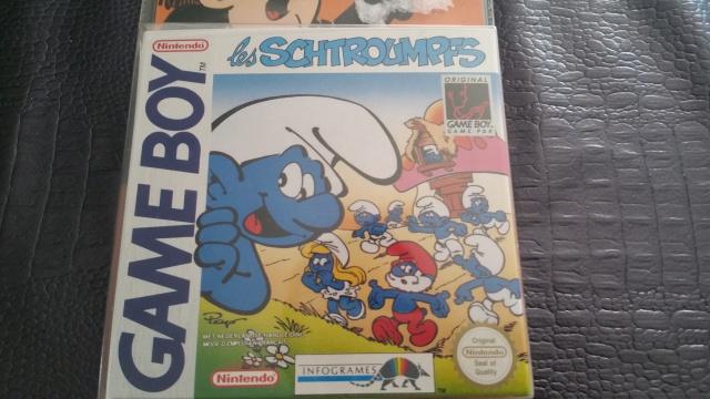 Blister Game boy - Les schtroumpfs 31237320150912134107