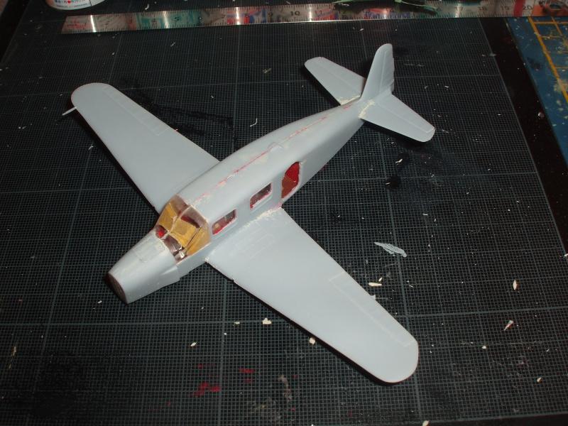 Heller avion Caudron Simoun (version Air Bleu). 313525cs1