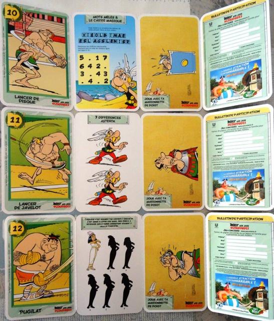 """Collection de cartes """"Astérix aux Jeux Olympiques""""  et balles magiques (cora et match) - Page 3 314825doublescartes"""