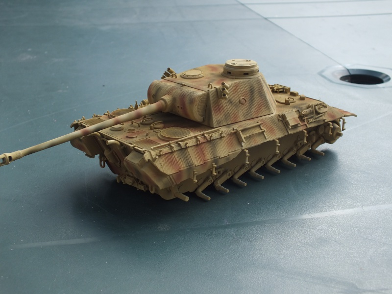 Panther Ausf D Dragon 1/35 avec Zimmerit réf. 6428 (FIN  DE PATINE , finitions lors de la  mise en place sur Dio) - Page 2 315240DSCF6352