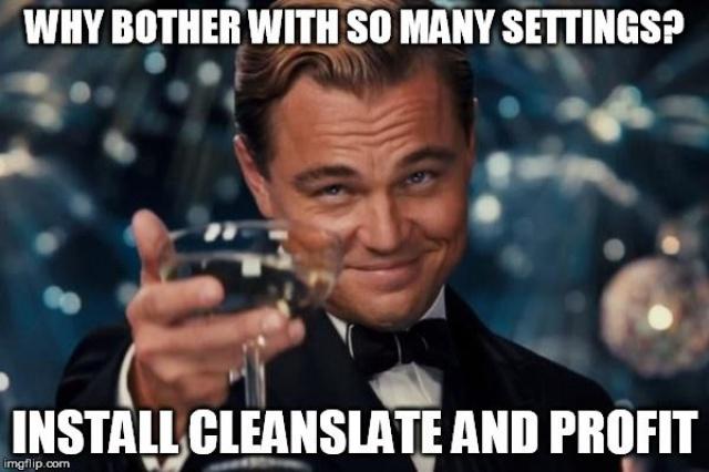 [KERNEL HTC U11] CleanSlate v3.7.14 (rock stable/smooth) BLN GPU LED KAD Squeeze AdBlock [17/03/2018] 315838httpsiimgflipcom14ztvm