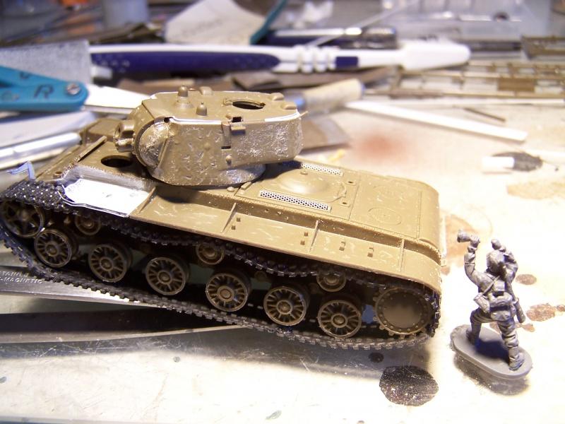 """""""Le duel"""" KV1c vs Panzergrenadiere Russie 1942 (terminé) 3162141005479"""