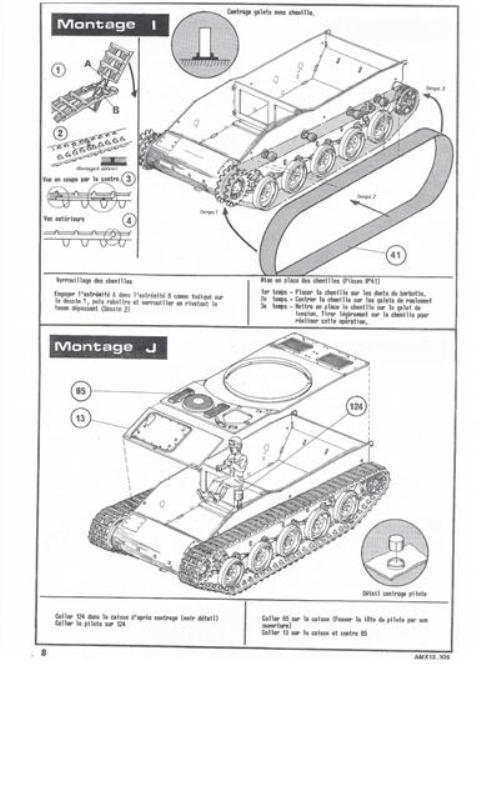 AMX 13 Canon de 105 [ Heller ] 1/35 31641513105008